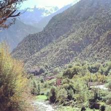 Atlas-Gebirge in Marrokkko