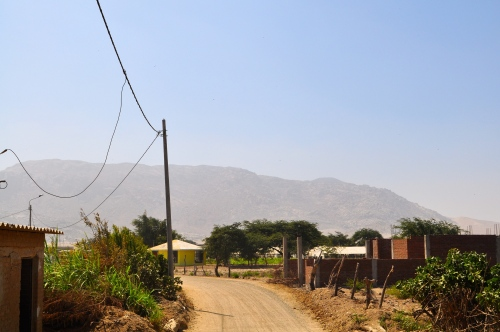 Richtung Cerro weg von - Reque