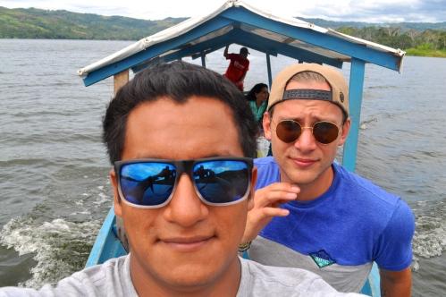In wilden Gewässern - Laguna Azul