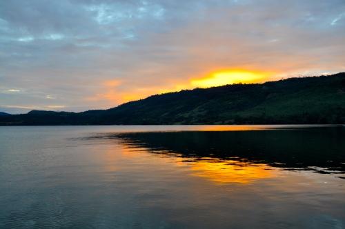 Sonnenuntergang - Laguna Azul - Sauce