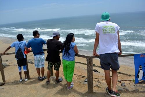 2. Weinachtsfeiertagsspaziergang - Playa de la media luna