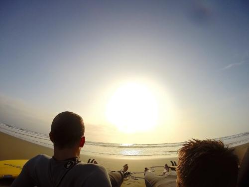 Surfing - Puerto Eten (Januar 2015)